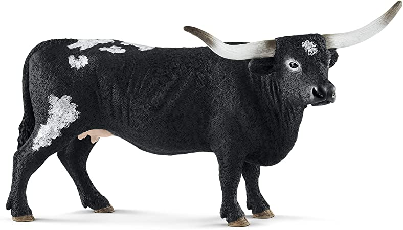 Schleich Texas Longhorn vache personnage jeu personnage Sammelfigur Animal collecter