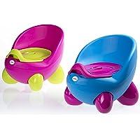 Töpfchen-Sitz von Luvdbaby/Herausnehmbares inneres Töpfchen/Hohe Rückenlehne und ergonomisches Design/Nicht-rutschende Füßchen/Tolles Design, das Ihre Kinder lieben werden