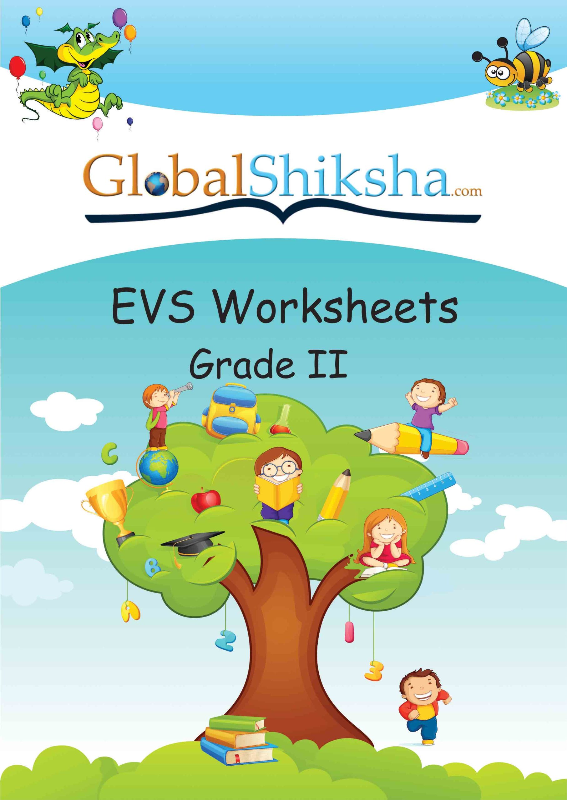 Buy Worksheets for Class 2 - Environmental Science (EVS) Book Online ...