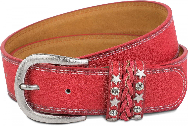 TALLA 85 cm. styleBREAKER - Cinturón - Liso - para mujer