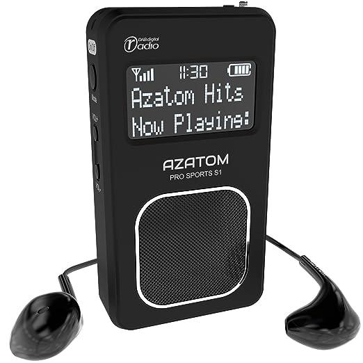 15 opinioni per Azatom Pro Sports S1 Radio Portatile DAB DAB+ & FM- Batteria Ricaricabile