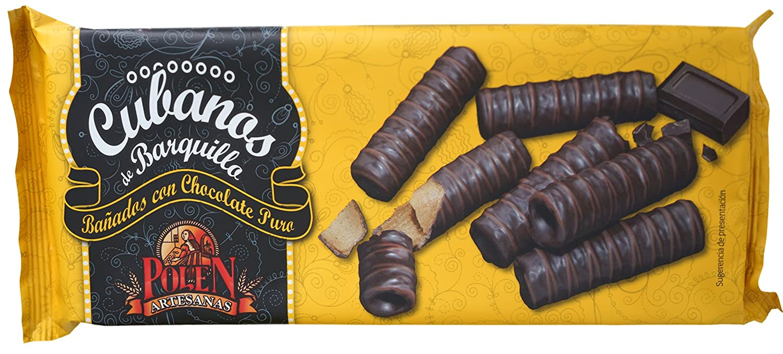Polen Artesanas Cubanos de Barquillo Bañados en Chocolate Puro - 20 Paquetes: Amazon.es: Alimentación y bebidas