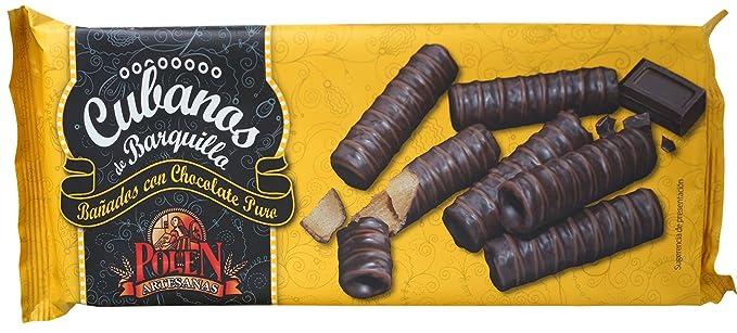 Polen Artesanas Cubanos de Barquillo Bañados en Chocolate ...