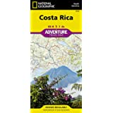 Costa Rica - Adventure map