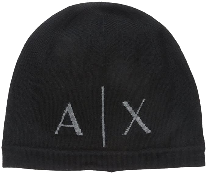Amazon.com  Armani Exchange Men s Knit Beanie 071f9b303462