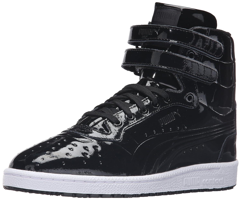 the latest 24fd3 edd70 PUMA Men's Sky II HI Patent Emboss Fashion Sneaker