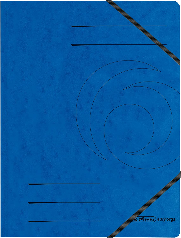 1x Herlitz Eckspanner A4 Colorspan 5er Pack farblich Sortiert Ordner Sammler