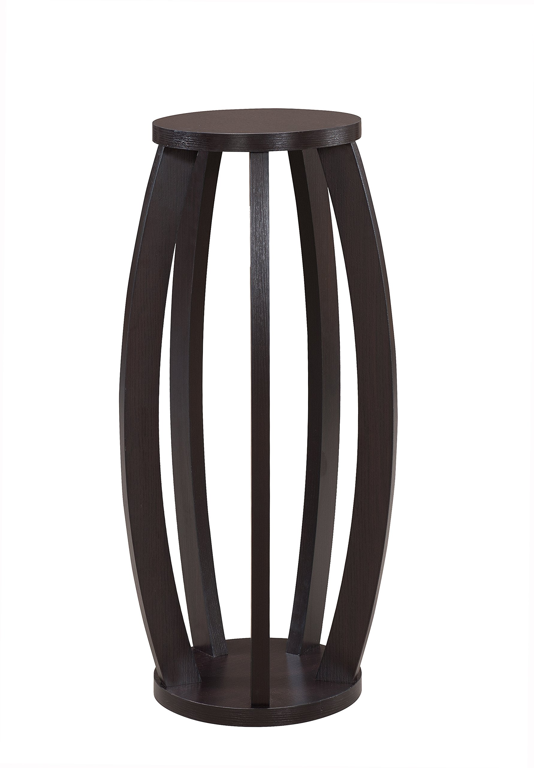 HOMES: Inside + Out ioHOMES Contemporary Ninsar Plant Stand, Cappuccino