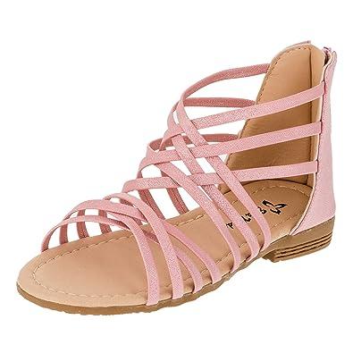 Eua Moda Modische Kinder Mädchen Lackoptik Sandaletten