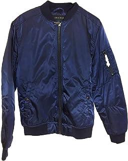 2c712206 Zara Men's Quilted Bomber Jacket 6719/478 Green: Amazon.co.uk: Clothing
