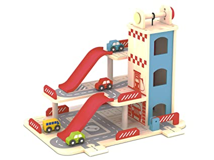 amazon may z car parking garage playset with elevator and Updated Garage may z car parking garage playset with elevator and r and downtown race track