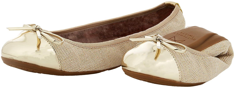 Butterfly Twists Twists Butterfly Damen Olivia Linen Geschlossene Ballerinas 2024a9