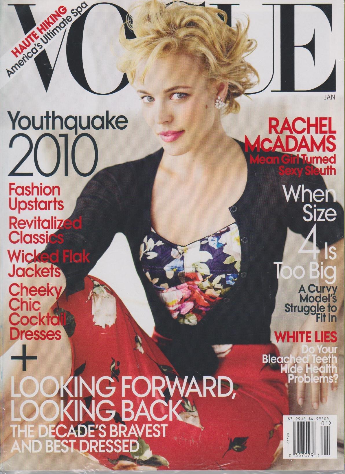 Vogue Magazine, January 2010: Rachel McAdams