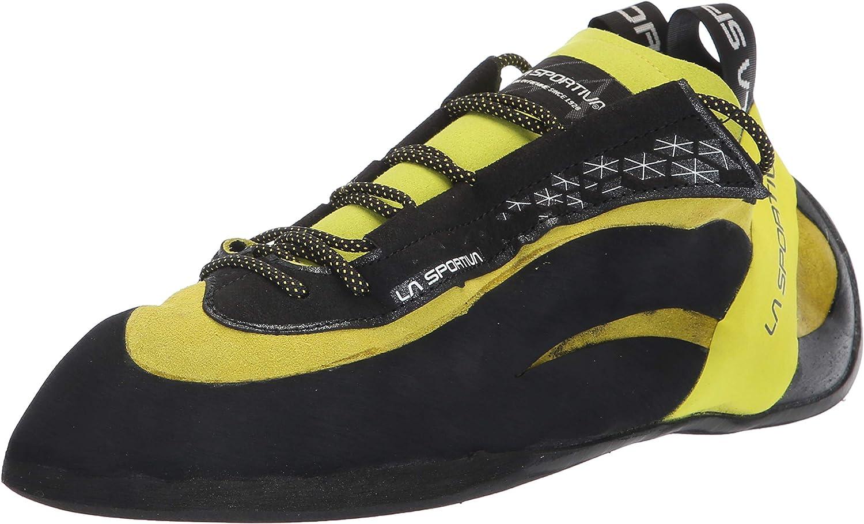 La Sportiva Miura Climbing Shoe, Mens, Lime, 44