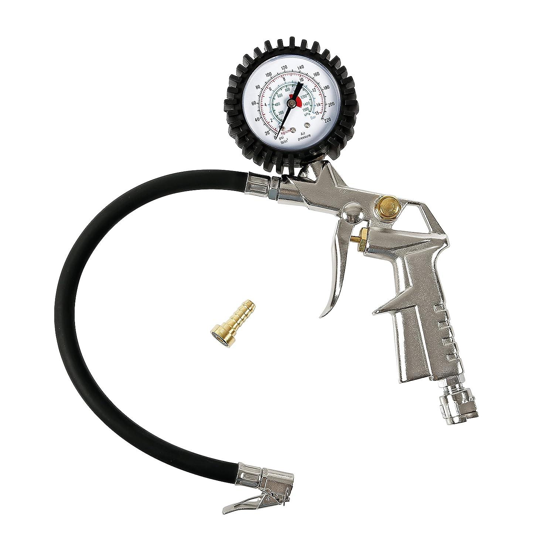LAMPA 74001 Pistola Gonfiaggio con Manometro
