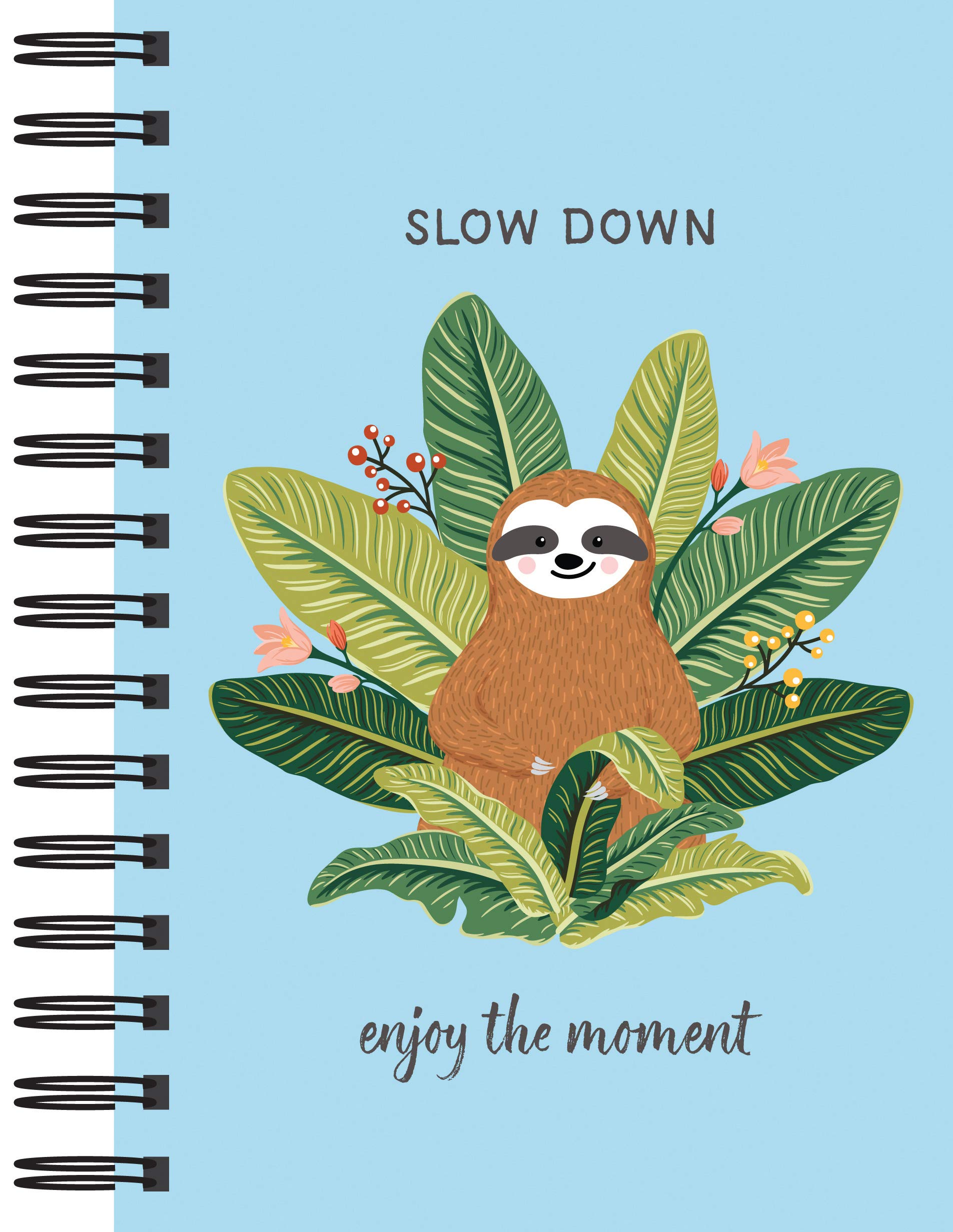 Sloth Journal Enjoy Moment Notebook product image