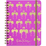 147cf8f2baa3e4 Lilly Pulitzer Large 17-Month Monthly Hardcover Planner, Weekly Layout, 2018 -2019