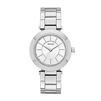 DKNY Reloj analogico para Mujer de Cuarzo con Correa en Acero Inoxidable NY2285: Amazon.es: Relojes