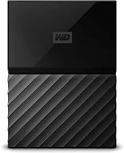 WD 4TB Black My Passport Portable Hard Drive - USB3.0 - WDBYFT0040BBK-WESN