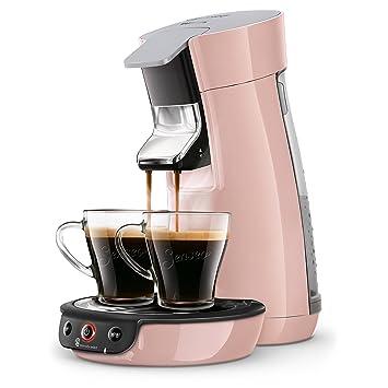 Senseo Viva Café HD6563/31 - Cafetera (Independiente, Máquina de café en cápsulas, 0,9 L, Dosis de café, 1450 W, Rosa): Amazon.es: Hogar