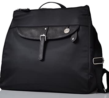 ad5ba648a27e9 PacaPod Gladstone Black Designer Baby Changing Bag - Luxury Convertible  Messenger and Backpack 3 in 1