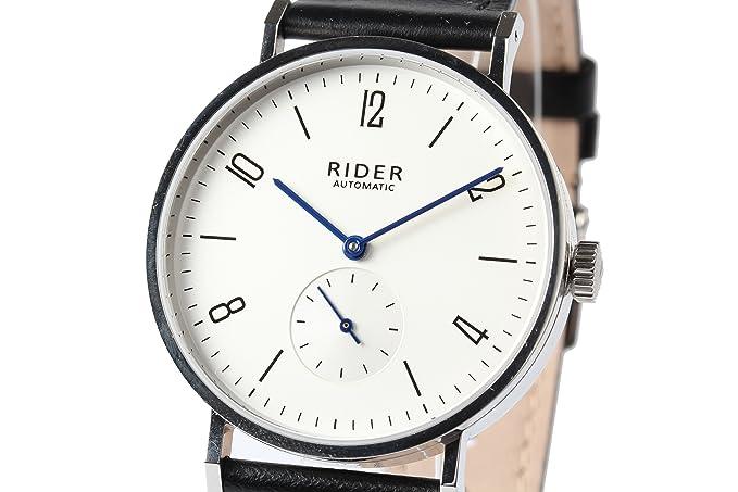 Nueva GT & FQ M002 automático reloj de pulsera, estilo Bauhaus árabe plata blanco Dial