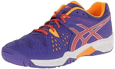 a02683835e3b ASICS GEL Resolution 6 GS Tennis Shoe (Little Kid Big Kid)