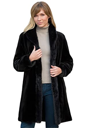 Paloma Reversible Danish Mink Fur Coat at Amazon Women's Coats Shop
