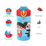 Zak Designs Ryan's World - Kids Water Bottle with