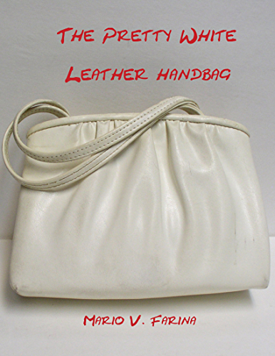The Pretty White Leather Handbag