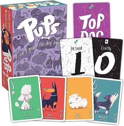 PUPS! Juego de cartas para niños, adolescentes, adultos y amantes de los perros: Amazon.es: Oficina y papelería