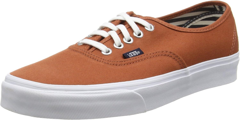 Vans Men Authentic – Deck Club Brown Auburn