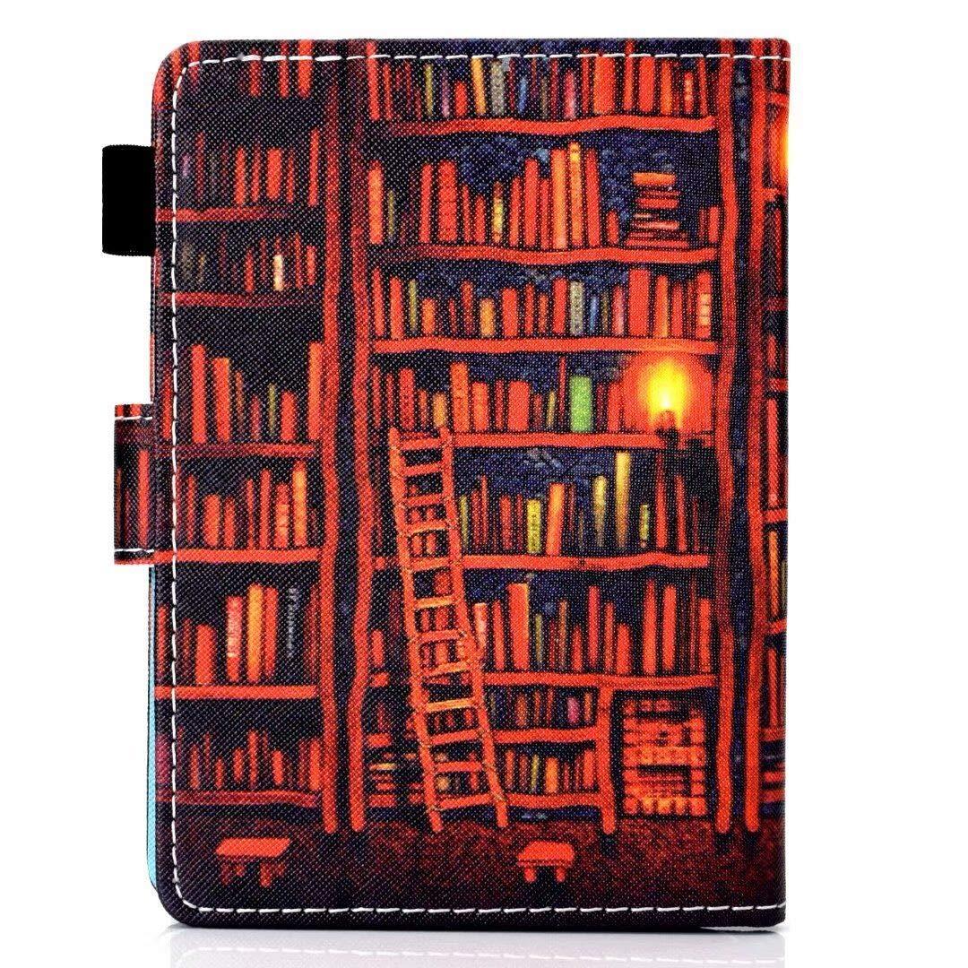Resistente a los ara/ñazos, a Prueba de Polvo, a Prueba de Golpes, Anti-Huella Dactilar 10./ª generaci/ón - Modelo de 2018 Caja de la Tableta LuckyW Elefante Funda para Kindle Paperwhite -