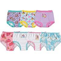 Disney Girls TGUP7117 Princess 3pk Training Pants & 4pk Panty Underwear - Multi