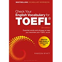 Check Your English Vocabulary for TOEFL: Essential words and phrases to help you maximise your TOEFL score
