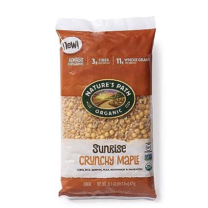 Natures Path Cereal orgánico sin gluten, caja de 10.6 onzas ...