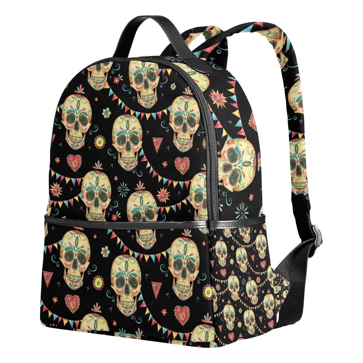 Amazon.com   School Backpack Vintage Watercolor