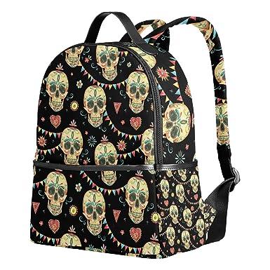 Amazon.com | School Backpack Vintage Watercolor