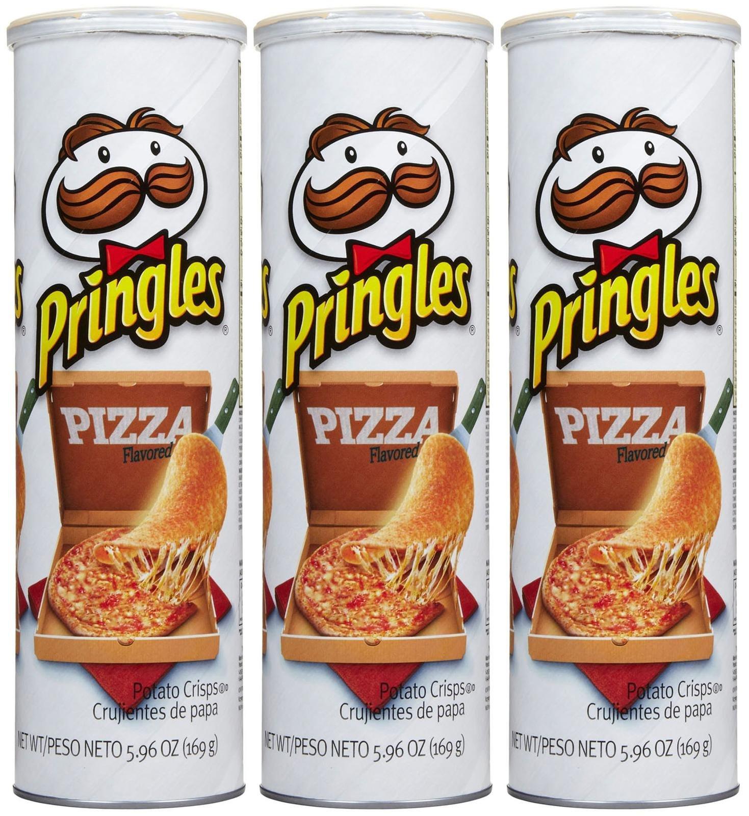 Pringles Chips - Pizza - 5.96 oz - 3 pk
