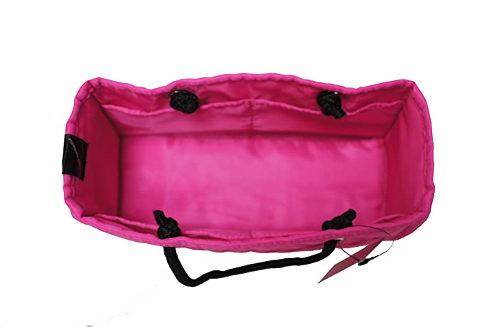 319a898f0811a Amazon.com: Zoe Quilted Handbag Bag Purse Organizer Insert with Removable  Base Medium Fuchsia Pink: Shoes