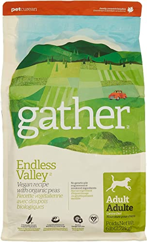 Petcurean Gather Endless Valley Vegan Recipe Dry Dog Food