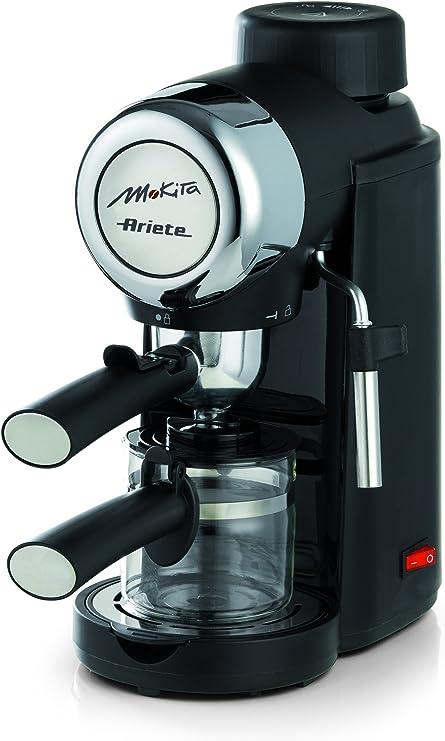Ariete 1340 Mokita - Cafetera espresso, color negro: Amazon.es: Hogar
