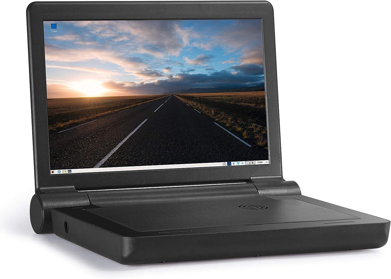 Maker Shack 10 Inch 1280x800 LCD Screen Flip-Back Case for Raspberry Pi 4