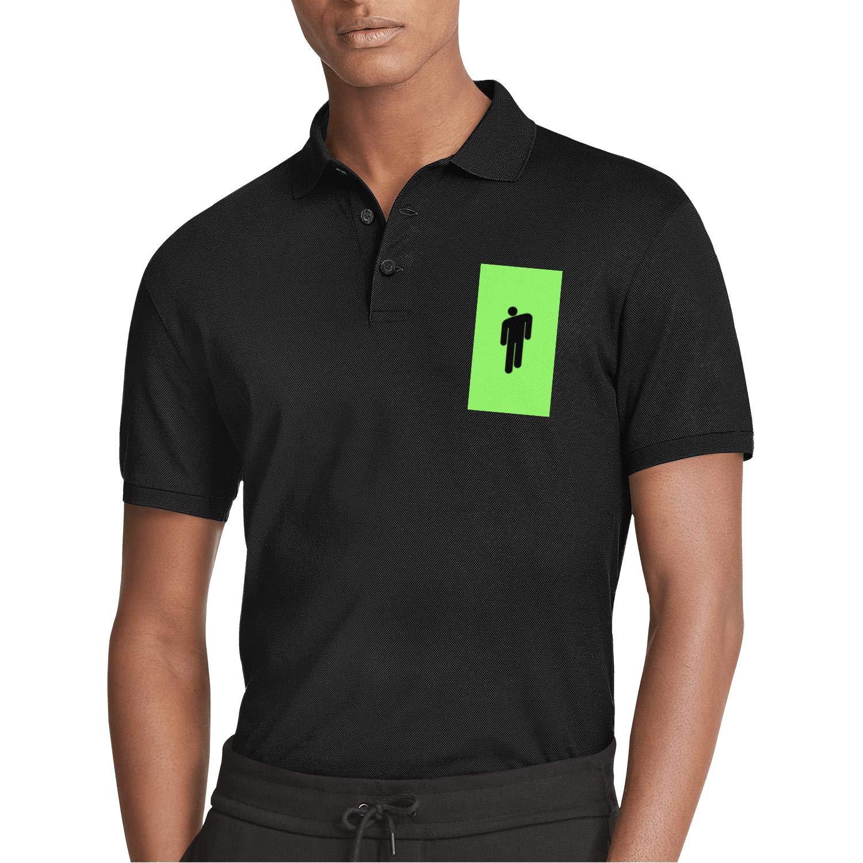 WZLAN Mens Polo Shirt Printed Graphic Slim Fit Stretchy Soft Short Sleeve Tshirts