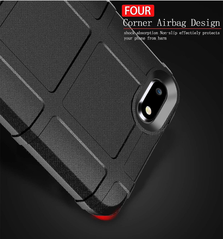 Bumper Renforc/é 9D Glass Screen Protector TPU de Portable /équip/ée de Anti-Rayures et Anti-Choc-Noir MEVIS Coque id/éale et optimale pour XIAOMI Redmi 6A /étui Mate