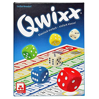 NSV - 4015 - QWIXX - Nominated for The Game of The Year 2013 - Dice Game: Benndorf, Steffen: Toys & Games