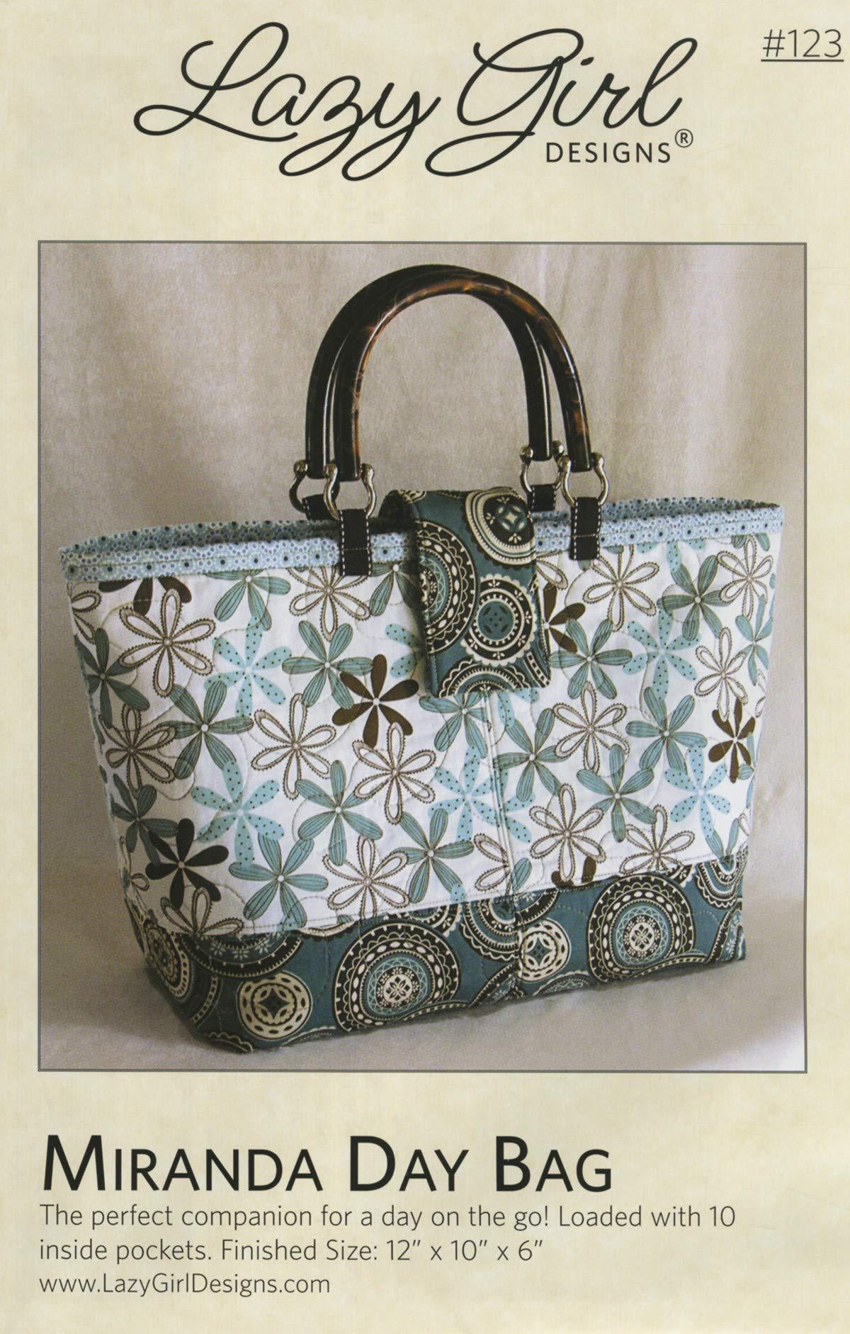 Miranda Day Bag Sewing Pattern by Lazy Girl Designs