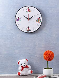 RANGRAGE Handcrafted Musical Instrument Wall Clock
