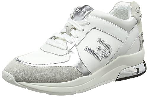 Liu.Jo Sneakers Miranda Bianca  Amazon.it  Scarpe e borse 69b668bd4ea
