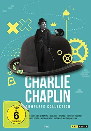 Charlie Chaplin Complete Collection [12 DVDs]